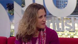One-on-one with Canada's foreign minister Chrystia Freeland (08:26)
