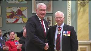 Former sergeant-at-arms Kevin Vickers awarded Star of Courage for actions taken during Ottawa shooting