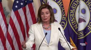 Pelosi urges Dems to follow 'serious path' on impeachment process
