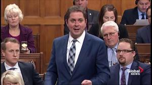 Scheer, Trudeau spar over building of pipelines