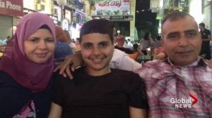 Canadian family stuck in Gaza after trip to see relatives