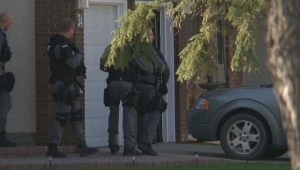 Heavy police presence in Winnipeg's Charleswood neighbourhood