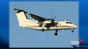 Security & Alberta government aircraft
