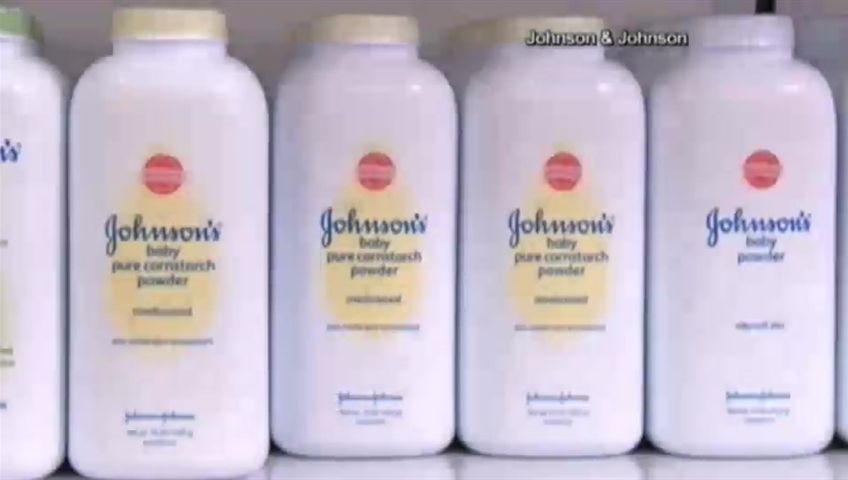 'Johnson & Johnson to wage  $72M successful  suit   linking babe  pulverization  to ovarian cancer'