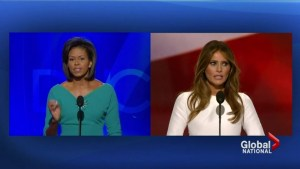 Melania Trump's RNC speech takes the words out of Michelle Obama's mouth