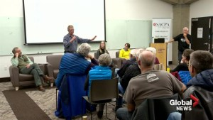Public discussion about off-highway vehicle use gets heated in Lethbridge