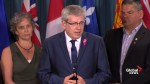 NDP MP Charlie Angus launches the National Suicide Prevention Action Plan