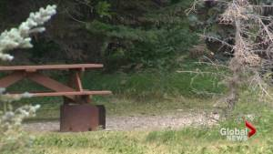 Southern Albertans enjoy campfires ahead of expected temperature spike