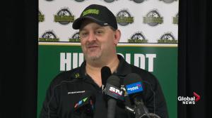 'Hockey is back in Humboldt': Humboldt Broncos president says game
