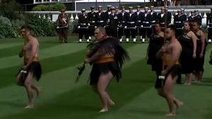 Prince Harry and Meghan Markle treated to rousing Haka in New Zealand