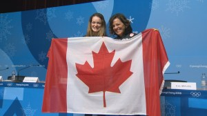 Kim Boutin named Canadian flag bearer for Winter Olympics closing ceremonies