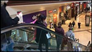 Peterborough shoppers show up for Black Friday Sales (01:42)