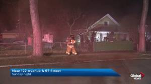 North Edmonton home damaged in house fire