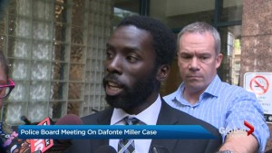 Toronto Police Services Board receives update on Dafonte Miller case