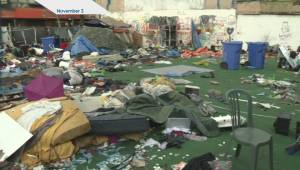Concern over Vancouver's homeless camps