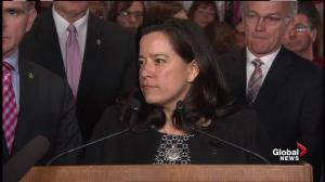 This is a message that discrimination of any form is unacceptable: Wilson-Raybould