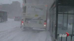 Blizzard wallops New Brunswick