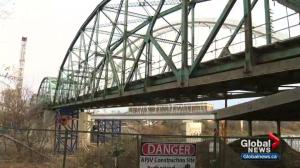 Old Walterdale Bridge is coming down