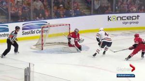 Edmonton Oilers blank the Carolina Hurricanes 4-0 in NHL pre-season action