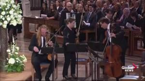 John McCain funeral: Renee Fleming performs 'Danny Boy'