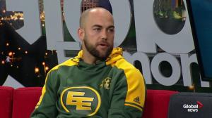 Edmonton Eskimos player Ryan King previews upcoming game against Toronto Argonauts