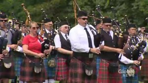 Highland games kick off in Fredericton