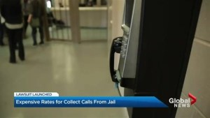 Class action lawsuit launched over collect calls from prison