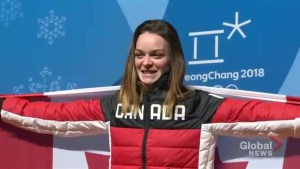 Kim Boutin says she's grown in sport at Olympics, expresses surprise over being named flag bearer