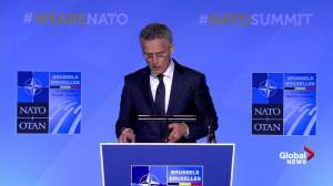 NATO Secretary General Jens Stoltenberg says defence spending to go up