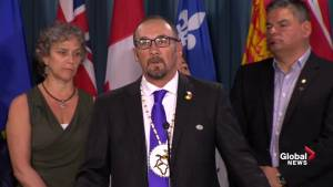 Indigenous leader says he's waiting for a national strategy around issue of suicides