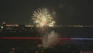 Canada Day 2016 fireworks in Edmonton