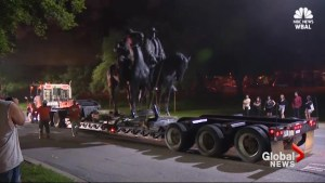 All of Baltimore's Confederate monuments removed overnight by city workers