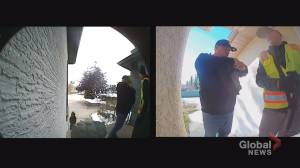 Calgary and Edmonton police search for suspects in repeated break-ins