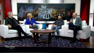 Stars of 'Your Pretty Face is Going to Hell' ahead of its Series Premiere in Canada (05:22)