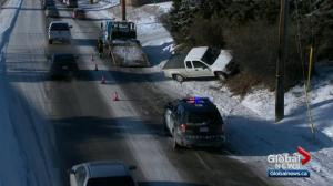 Cold weather cause traffic headaches in Calgary