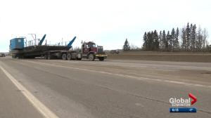 Rosevear Ferry makes highway trek to Alberta lake