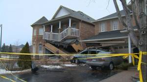 Investigation underway to determine how TTC bus ended up in Scarborough homes