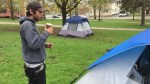 Tent dwellers in Peterborough park getting the boot