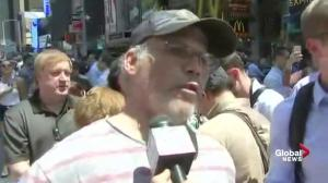 Witness describes scene of deadly Time Square crash