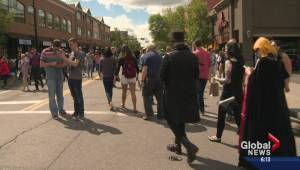 Harry Potter mania takes over Kensington