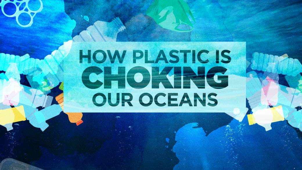 Click to play video: 'Plastic pollution crisis: How waste ends up in our oceans'