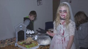 Halloween isn't just about kids in search of treats