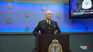 Presser: VPD update on suspicious circumstances at Pacific Centre
