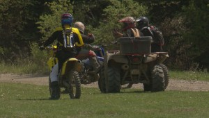 Hundreds gathered in Calgary to protest ban on OHV use in Castle area