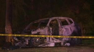 Early morning crash in Surrey leaves teen in hospital