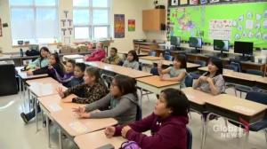 Saskatoon students help meteorologist deliver Halloween forecast