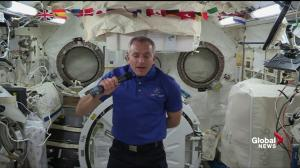 David Saint-Jacques says he'll 'never forget' first sunrise in orbit