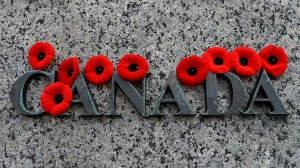 Canada pauses to remember