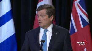 Tory requests new transportation legislation, may introduce photo radar (02:17)