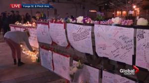 Vigil springs up in Toronto for victims of Yonge Street van attack